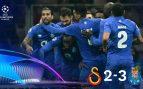 Galatasaray – Oporto: resultado, resumen y goles (2-3)