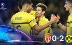 Mónaco – Borussia Dortmund: resumen, resultado y goles (0-2)