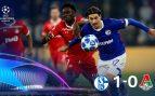 Schalke – Lokomotiv Moscú: Resumen, resultado y goles (1-0)