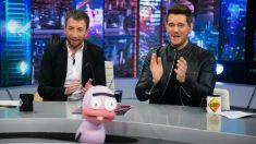 Michael Bublé divirtió en 'El Hormiguero'