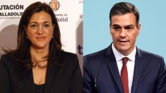 Soraya Rodríguez y Pedro Sánchez