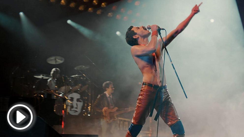 La vida de Freddie Mercury en Bohemian Rhapsody triunfa en su estreno en la taquilla española