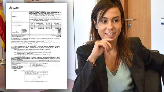 """Isabel Pardo gasta 500.000 € en cambiar los muebles de Adif porque están """"obsoletos"""""""