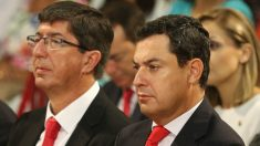 Juan Marín y Juanma Moreno. Foto: Europa Press