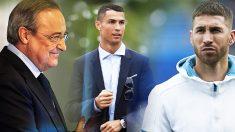 A Florentino Pérez no le han sentado mal las palabras de Cristiano sobre su nueva etapa en la Juventus.