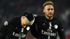 Neymar y Mbappé, jugadores del PSG