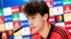 Odriozola analiza el partido ante el CSKA en rueda de prensa. (EFE)