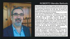 Ficha de Roberto Mendès en la candidatura de 'Almagro Sí Puede'. (Foto: Almagro Sí Puede).