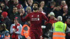 Salah, en el Liverpool – Nápoles