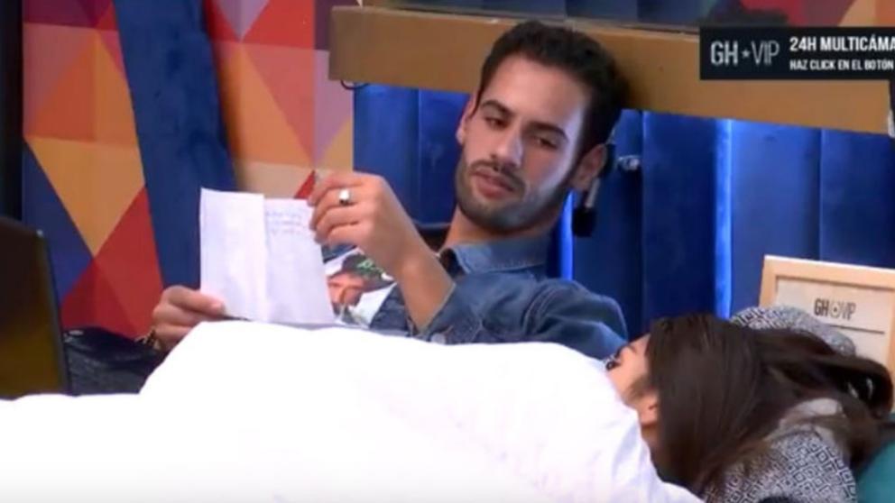 Asraf y Miriam en la cama de 'GH VIP 2018'