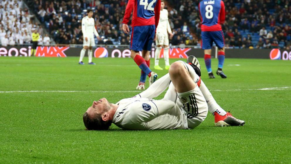 Liga Santander   Bale, durante el Madrid – CSKA (Enrique Falcón)