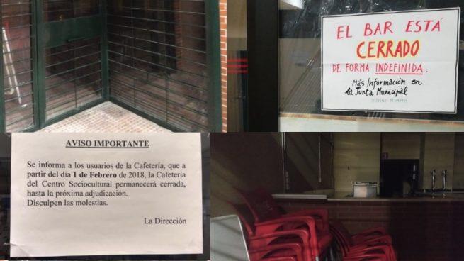 Los mayores de Villaverde hartos porque Carmena tiene cerradas las cafeterías en sus centros