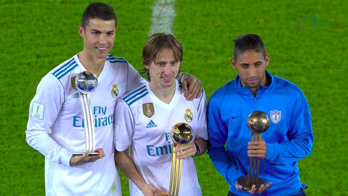 Modric puede ganar su segundo Balón de Oro en el Mundial de Clubes 2018. (EFE)