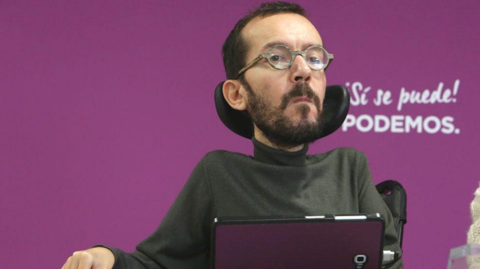 El secretario de Organización de Podemos, Pablo Echenique. (Foto: Europa Press)