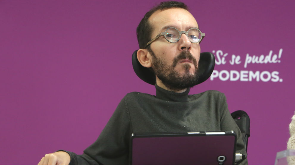 Pablo Echenique. (Foto: Europa Press)
