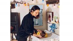 El mágico y tierno momento de Dafne Fernández con su hijo