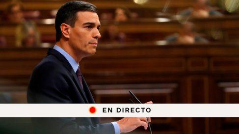 Pedro Sánchez comparece en directo en el Congreso para hablar de Cataluña, Gibraltar y el Brexit.