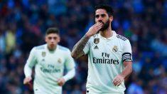 Isco, durante un partido del Real Madrid. (EFE)