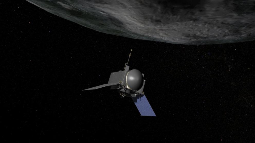 La NASA anuncia que existe agua en el asteroide Bennu