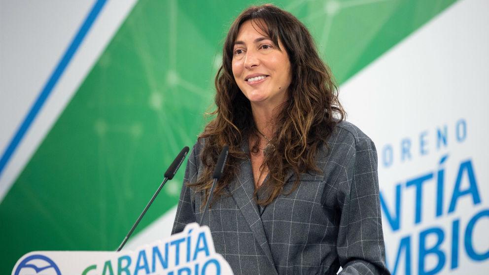 La secretaria general del PP-A, Loles López (Foto: Europa Press).