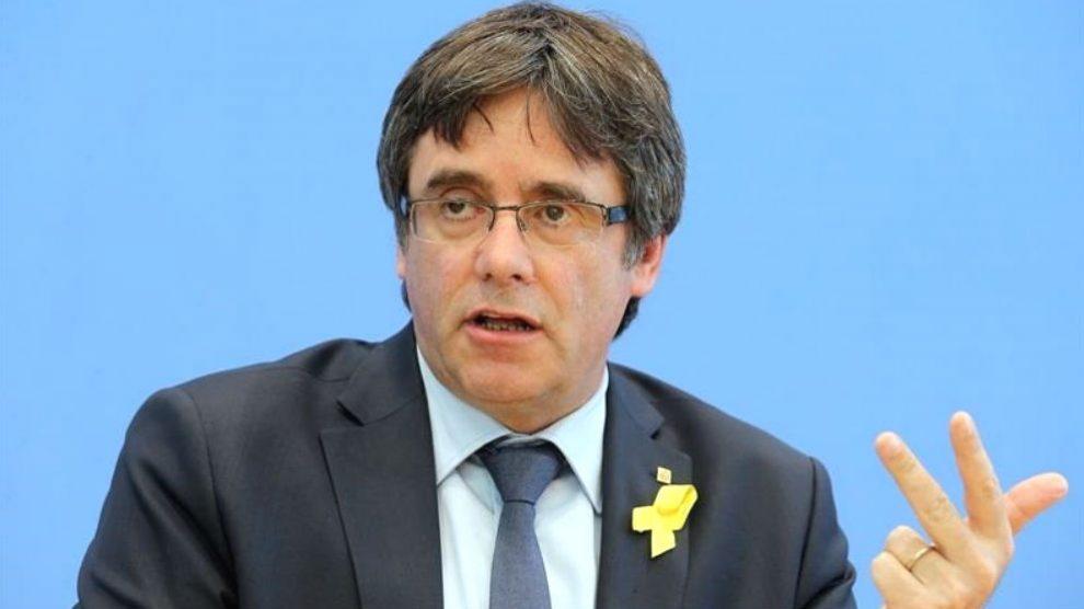 El ex presidente de la Generalitat fugado en Bélgica, Carles Puigdemont (Foto: Efe)