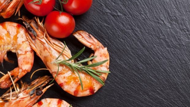Receta de ravioli de requesón con salsa de langostinos