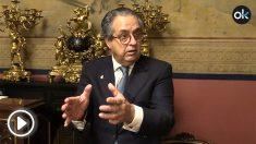 El senador del PP por Canarias Antonio Alarcó Hernández.