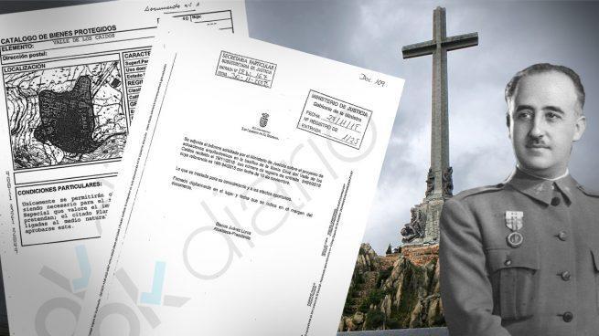 El informe de El Escorial favorable a la exhumación de Franco no cumple los requisitos legales