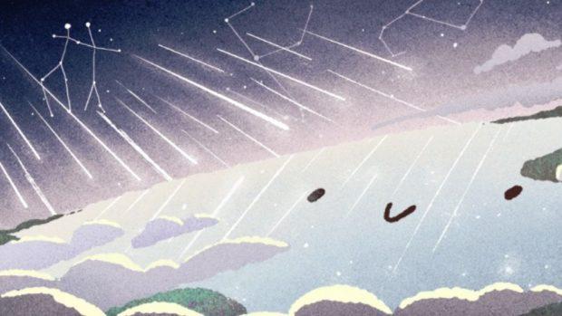 Geminidas 2018 doodle de google