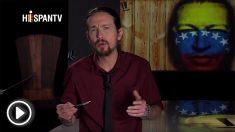 """Pablo Iglesias en un monólogo de su programa de 'Fort Apache' en marzo de 2013: """"Chávez es ya invencible"""""""