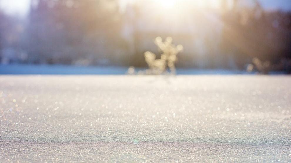 Una imagen del mágico invierno.