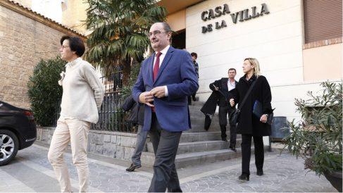 Javier Lambán. Foto: Europa Press