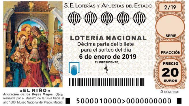 Comprobar Lotería del Niño 2019