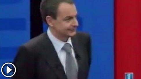 José Luis Rodriguez Zapatero en TVE