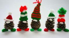 Una forma muy original de decorar tu hogar en Navidad es utilizar adornos caseros