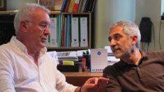 Cayo Lara y Llamazares en una imagen de archivo (EP).