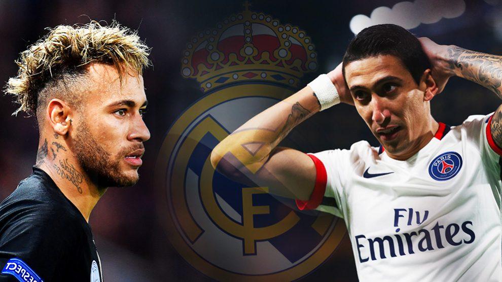 Di María frustró la llegada del Madrid en enero.
