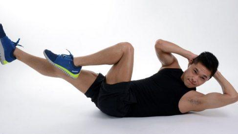 los abdominales van estupendos, siendo un entrenamiento relativamente fácil de realizar.s