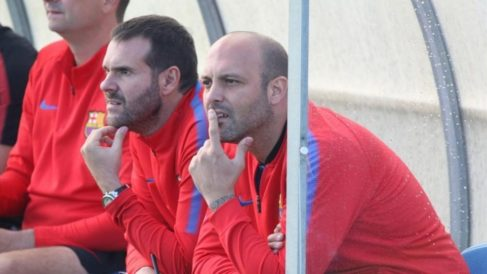 Gabri y Albert Jorquera ya formaron tándem en las categorías inferiores del Barcelona (FC Barcelona)