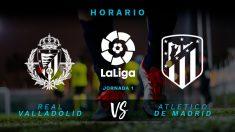 Liga Santander 2018-2019: Valladolid – Atlético de Madrid | Horario del partido de fútbol de Liga Santander.