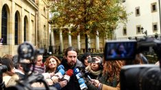 Pablo Iglesias este viernes en Guernica (Foto: EFE).