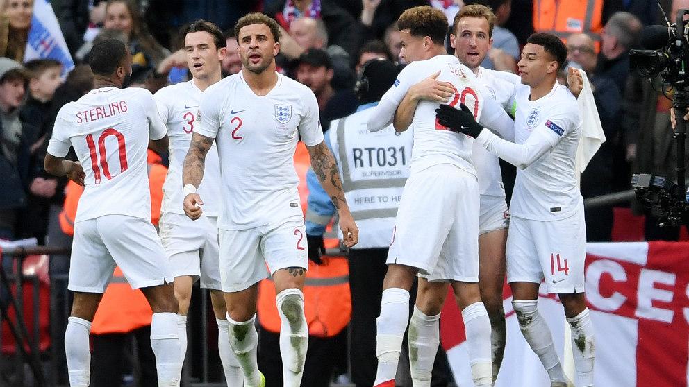 Inglaterra reinventa el fútbol. (Getty)
