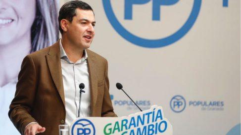 Juanma Moreno, líder del PP-A (RRSS).