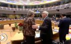 May y Juncker mantienen una tensa discusión en la cumbre de la UE a cuenta del Brexit