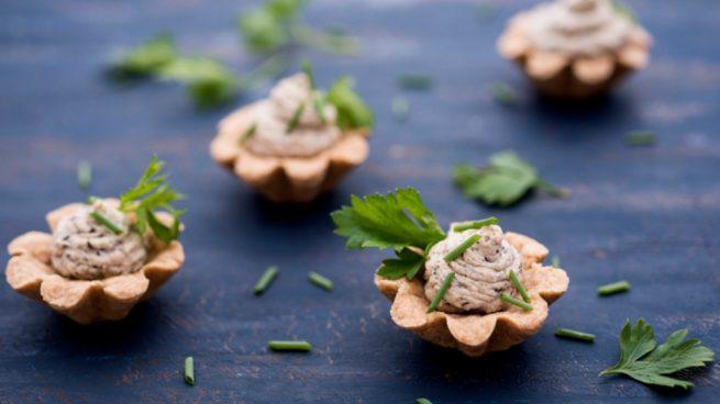 receta de paté de nueces y queso azul