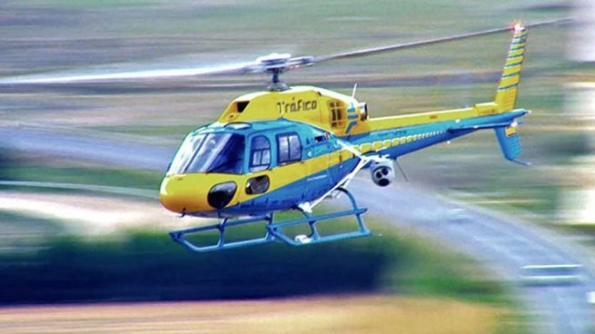 El Pegasus de la DGT que vigila las carreteras desde el aire. Foto: Europa Press