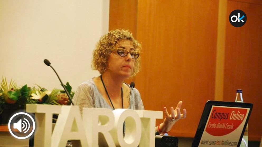 María del Mar Tort, tarotista e integrante de 'Astrólogos por la república', afirma que la independencia llegará en 2020