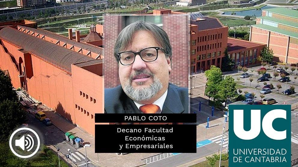 El decano de las firmas falsas de la Universidad de Cantabria, Pablo Coto Millán