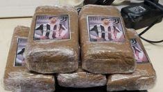 La droga incautada con la imagen de Cristiano Ronaldo. (Le Matin)