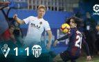 Eibar – Valencia: resumen, resultado y goles (1-1)